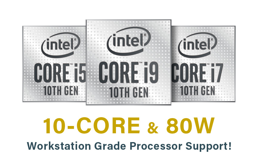 10-Core, Up To 95 W CPU