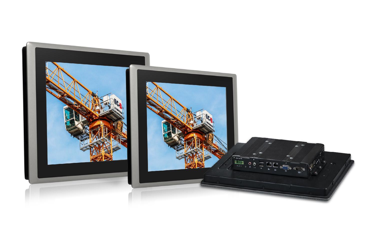 德承推出阳光下可读的工业平板计算机和触摸显示器,适合于户外应用