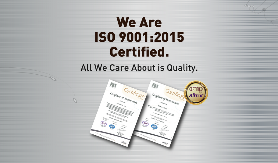 Cincoze is Officially ISO 9001:2015 (CNS 12681) Certified ...